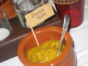 Our very popular Rhubarb Relish!